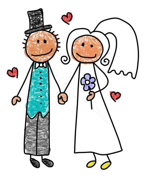 small resolution of bride and groom clipart clipart kid