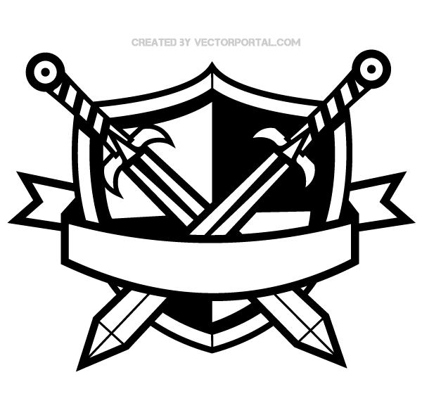 Free shield clipart vectors download free vector art image