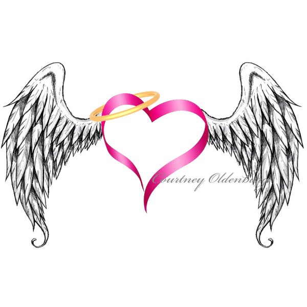 free angel wings clip art