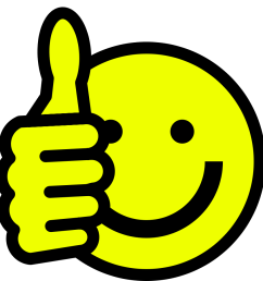 smiley face clip art thumbs up free clipart images 6 [ 900 x 900 Pixel ]