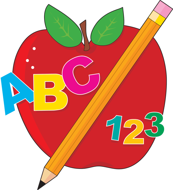 ABC Apple Clip Art