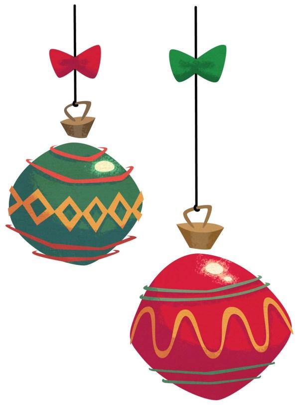 Christmas Clip Art Santa Tree