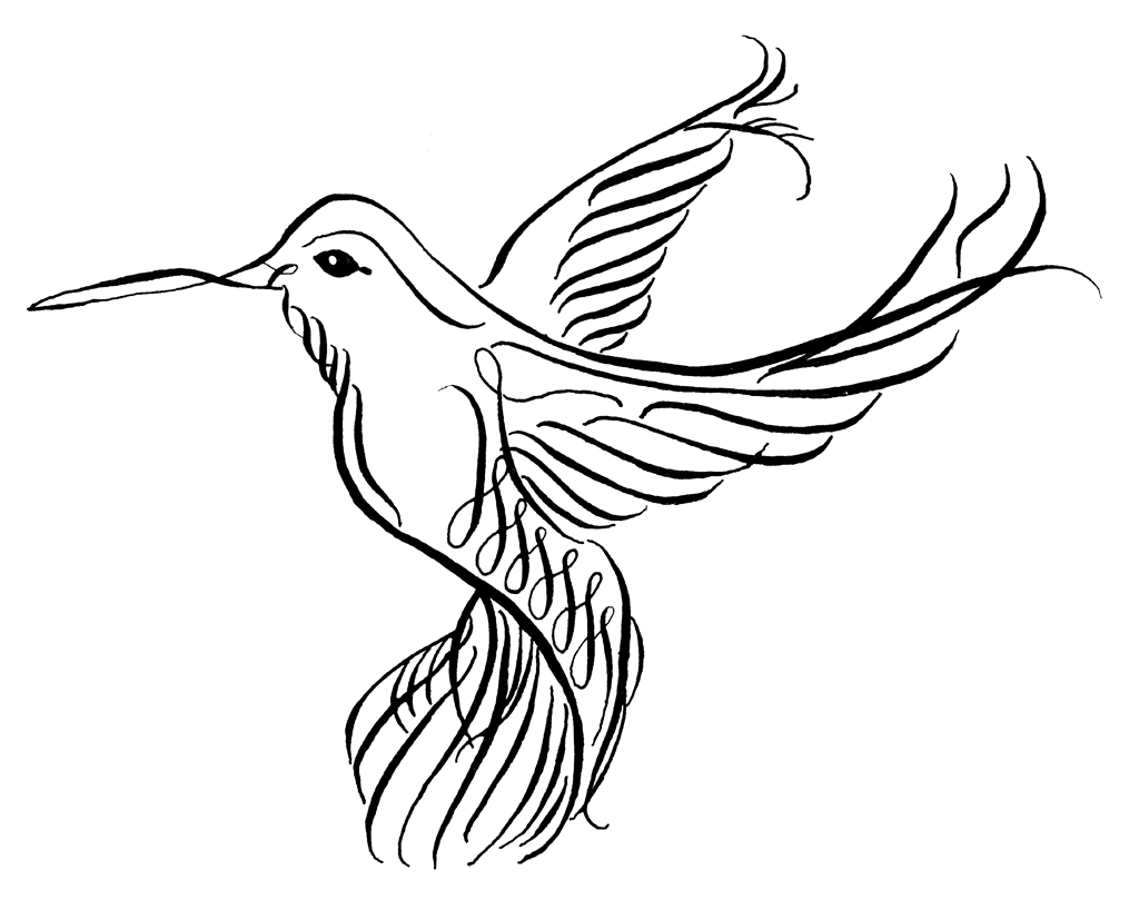 Free Hummingbird Clipart Pictures