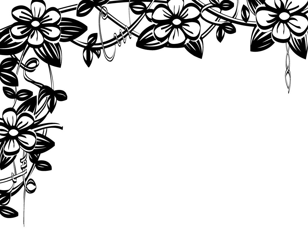 Flower Border Flowers Clip Art Borders Image