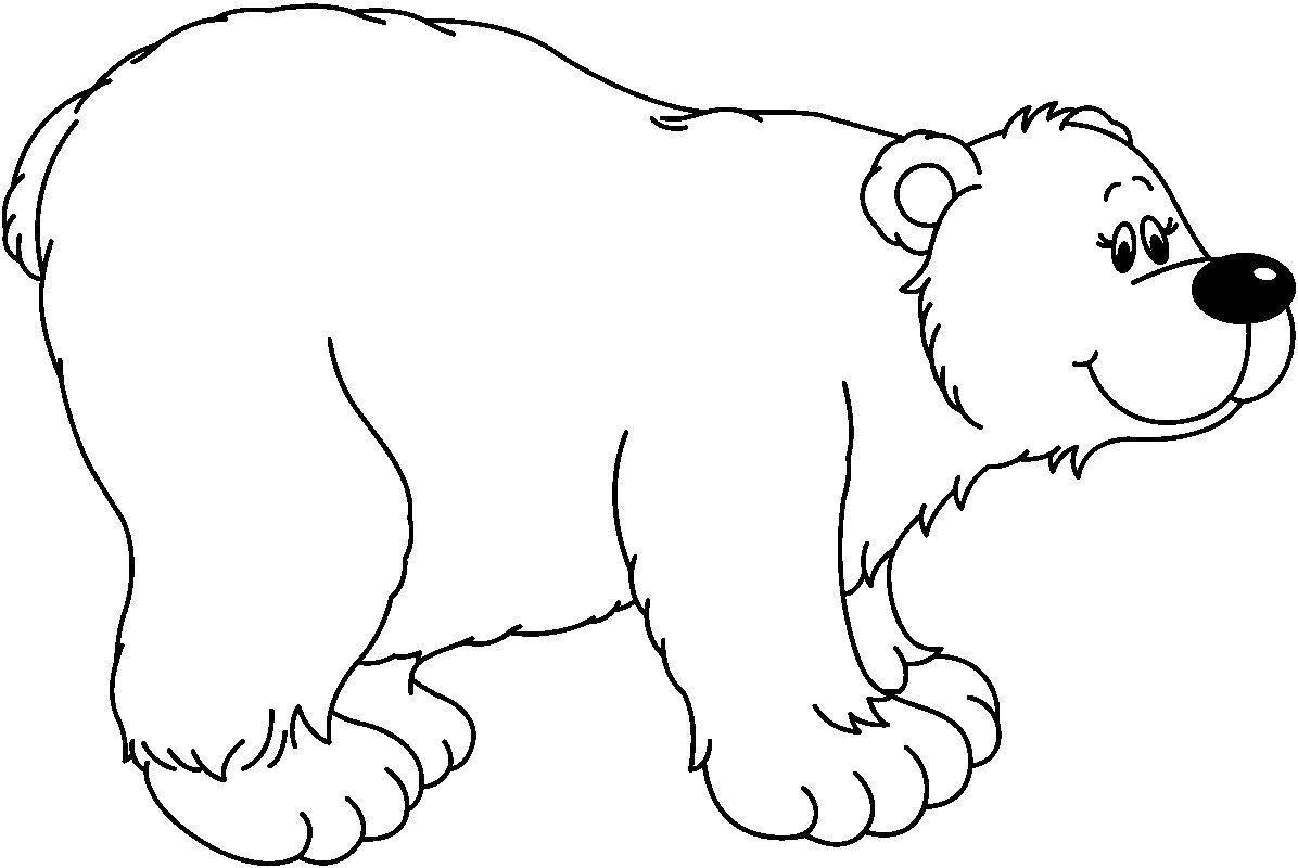 Free Polar Bear Clip Art Pictures