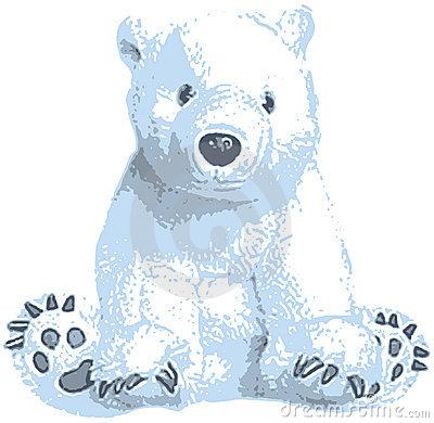Polar Bear Winter Bear Clipart Clipart Kid 2 Clipartix