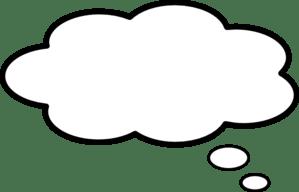 Thought bubble word bubble cartoon speech clip art at