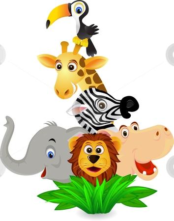 Jungle Clipart : jungle, clipart, Cartoon, Jungle, Animals, Clipart, Clipartix