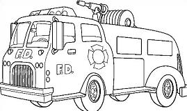 Fire Engine Holiday Christmas Fire Safety wiring diagram