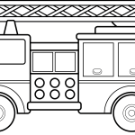 Firetruck Fire Truck Clip Art Black And White Use These Free Images For Clipartix