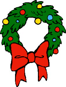 free christmas wreath clipart public