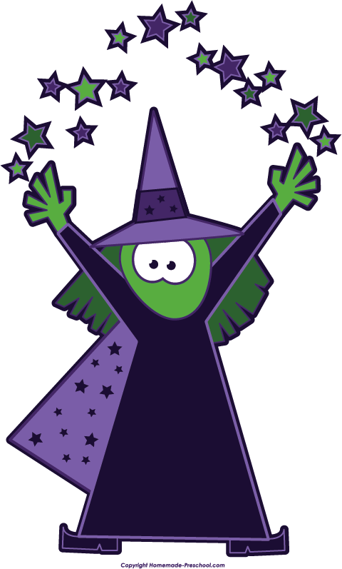 free witch clip art