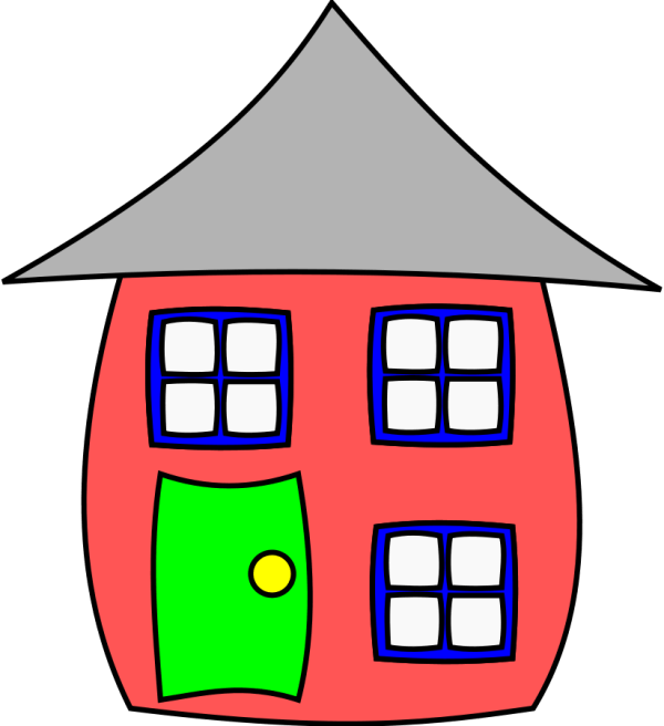 Cartoon House Clip Art