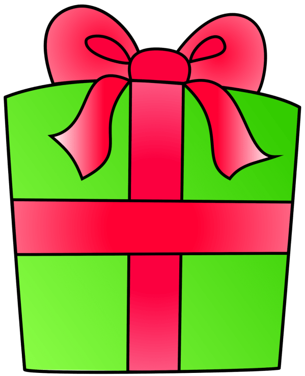 birthday present clip art free