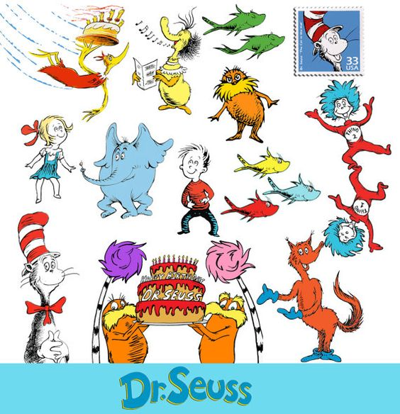 Cat In The Hat Dr Seuss Clipart The Cat In Hat Clip Art Printable Clipartix