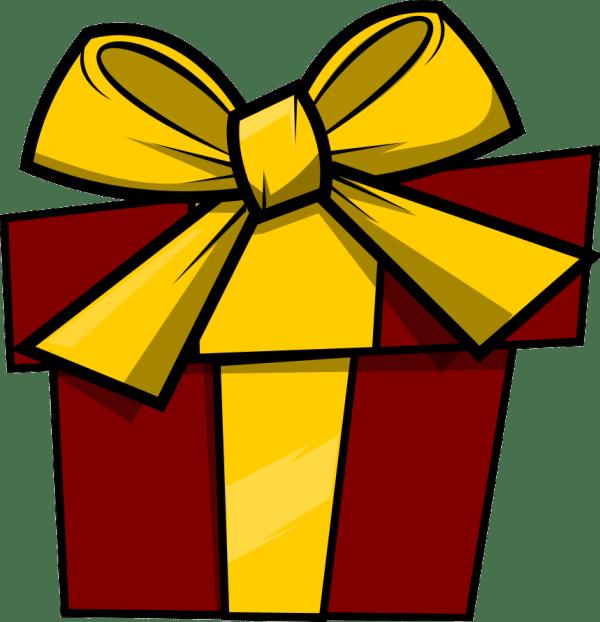 free present clip art