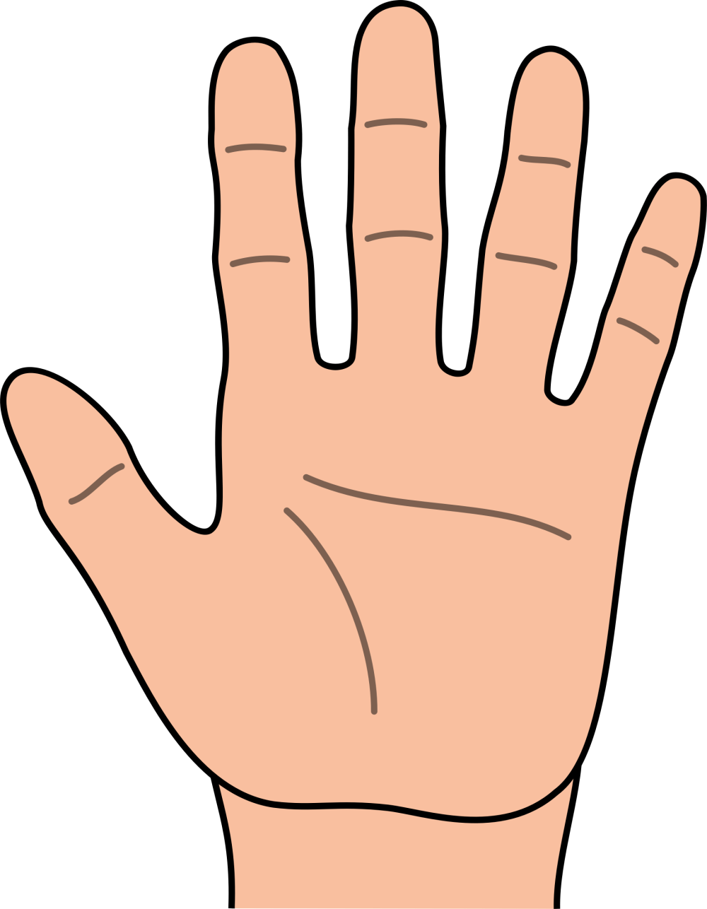 medium resolution of hands hand clip art free clipart images
