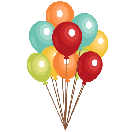 free birthday balloons clip art