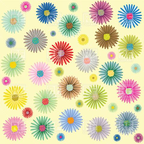 flower background clipart kid