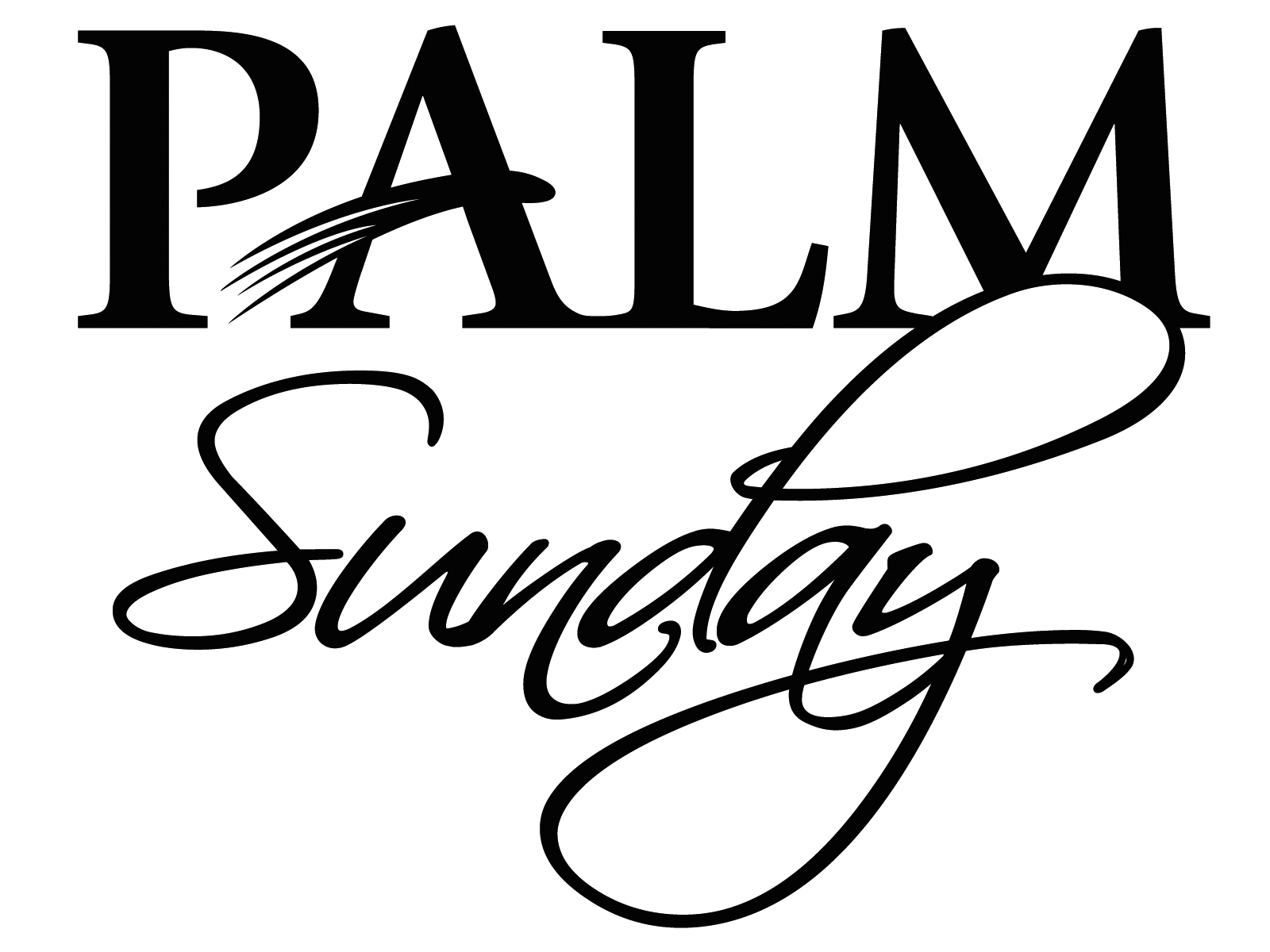 Free Palm Sunday Clipart Pictures