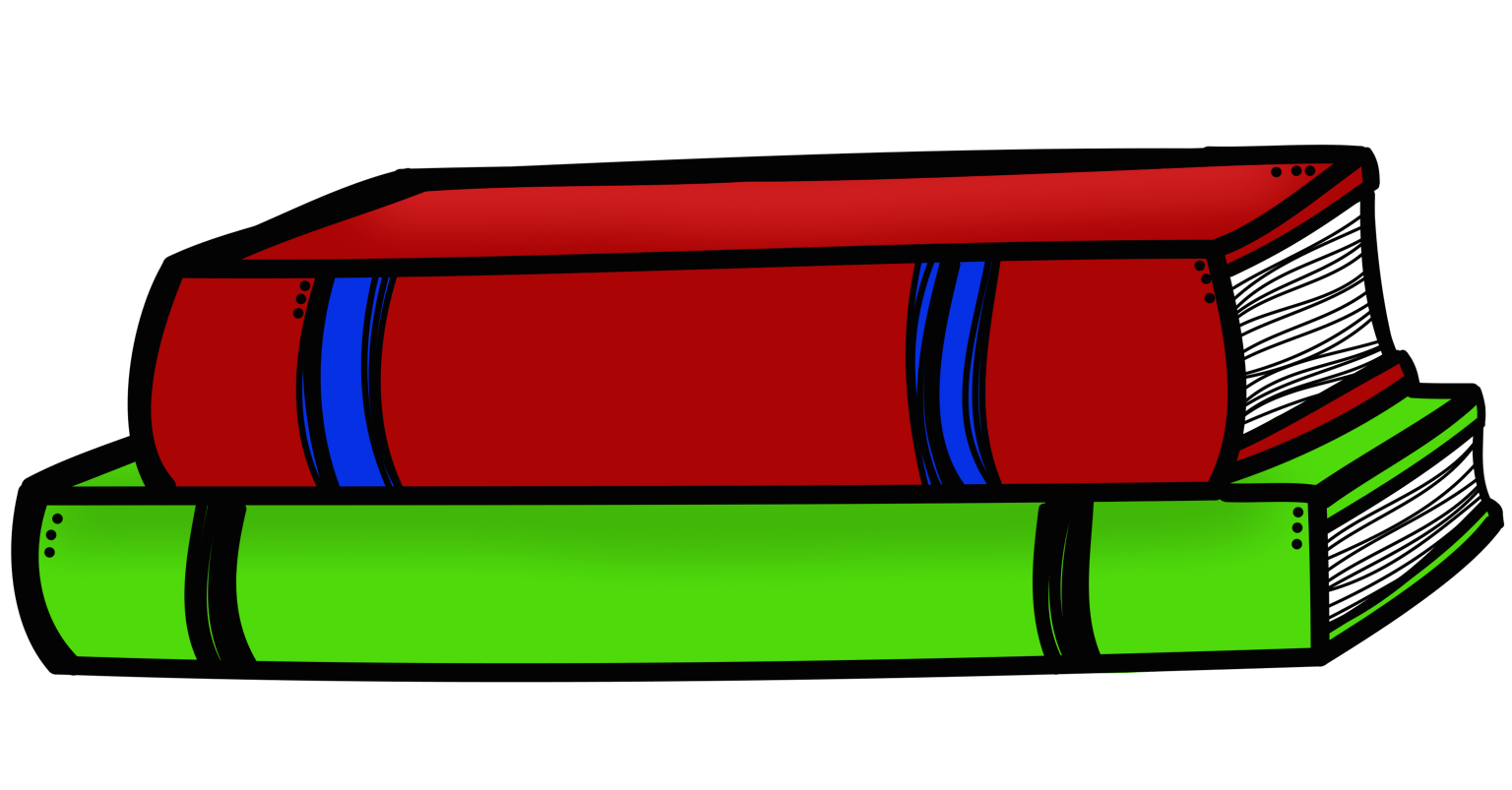 hight resolution of stack of books clipart 12