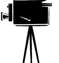 movie camera clip art 4 [ 826 x 1665 Pixel ]