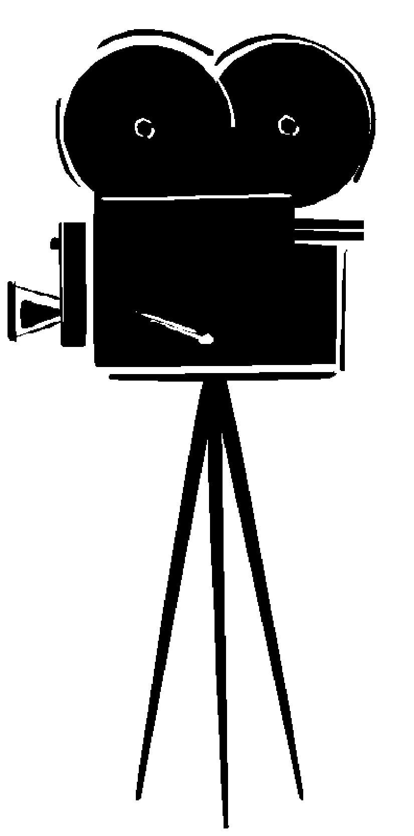 hight resolution of movie camera clip art 4