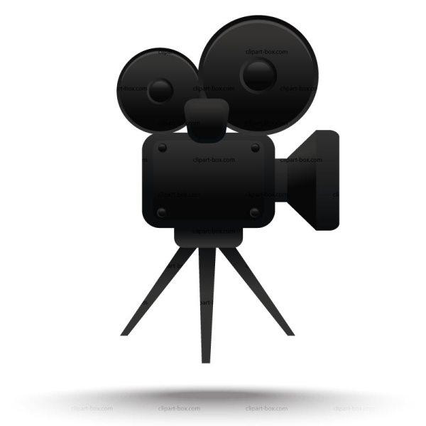Movie Camera Clipart 3 - Clipartix
