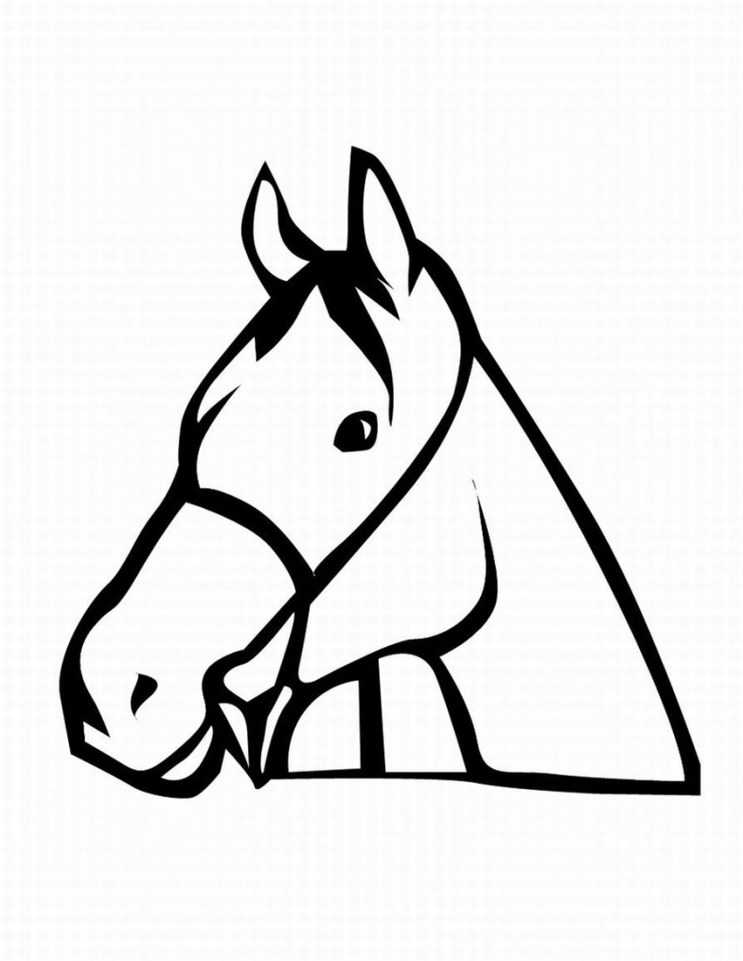 Horse Clipart Black And White : horse, clipart, black, white, Horse, Clipart, Clipartix