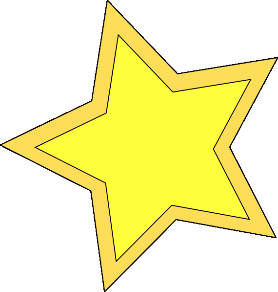 free gold star clipart
