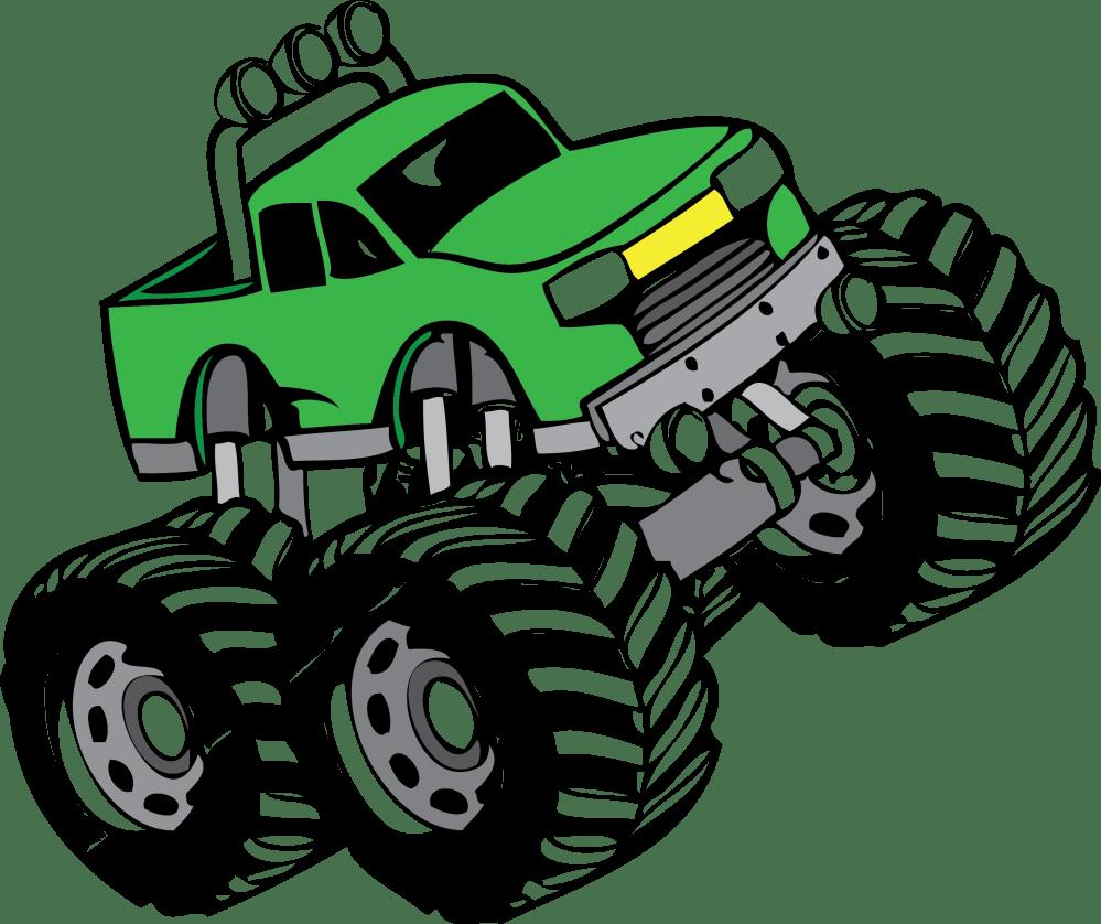 medium resolution of monster truck clip art