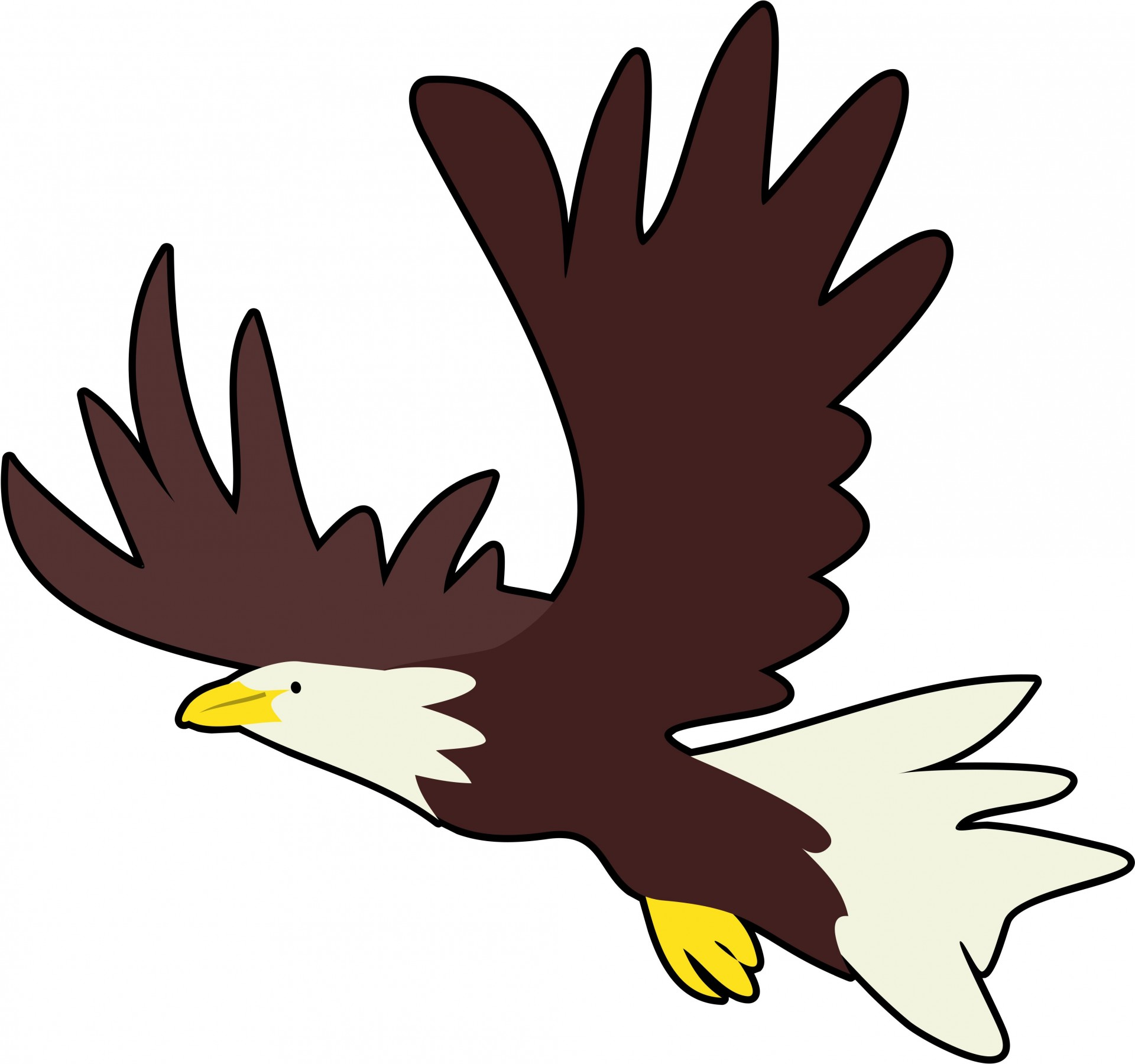 hight resolution of bald eagle clipart free pictures