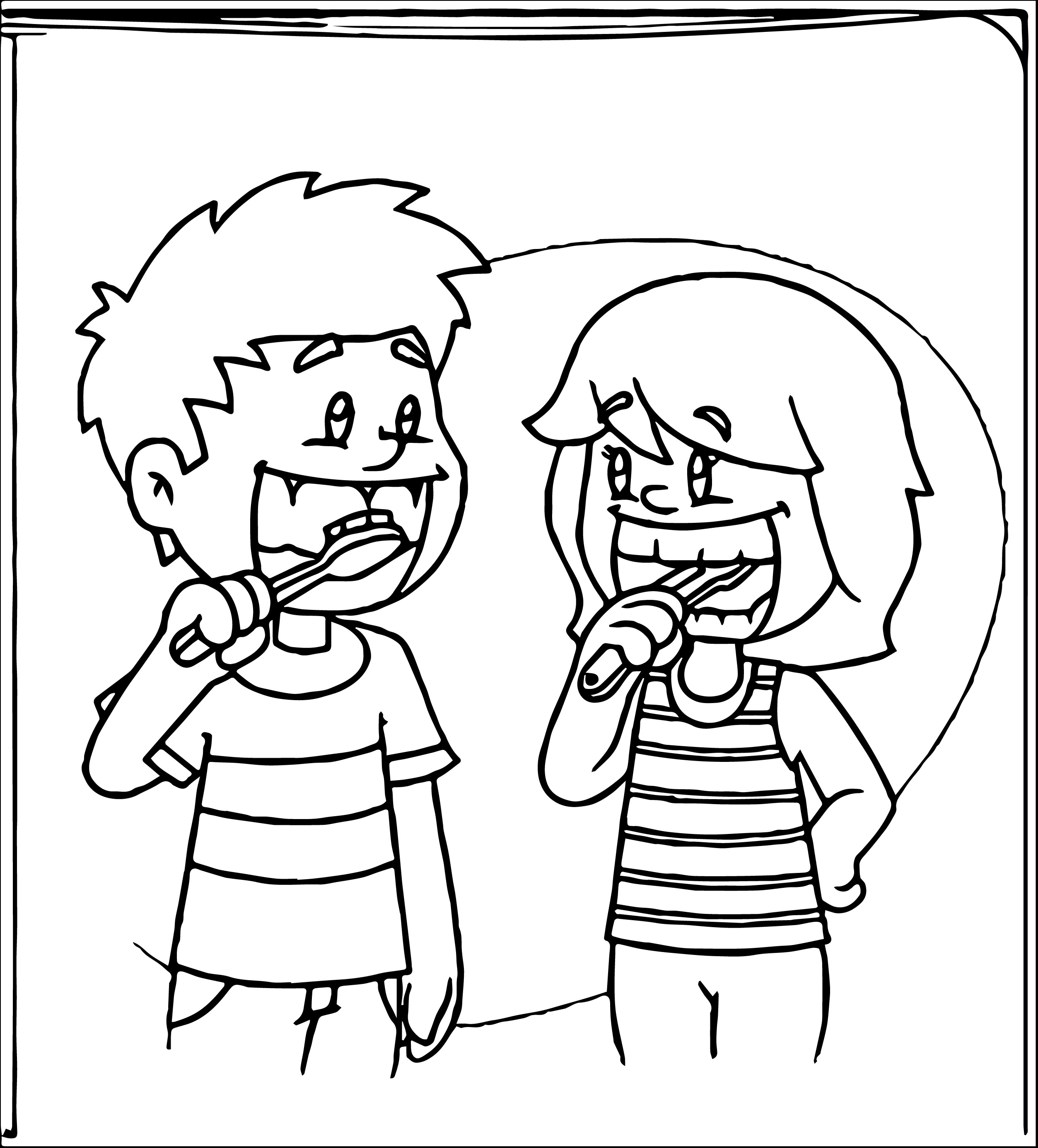 Free Brush Teeth Clipart Pictures