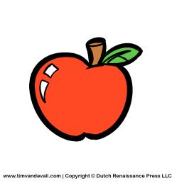 apple clipart free clip art images [ 1200 x 1200 Pixel ]