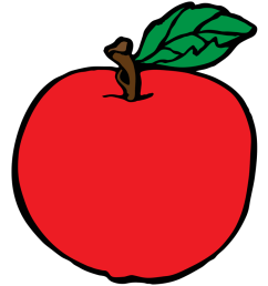 apple fruit free clipart names a with pictures [ 1280 x 720 Pixel ]