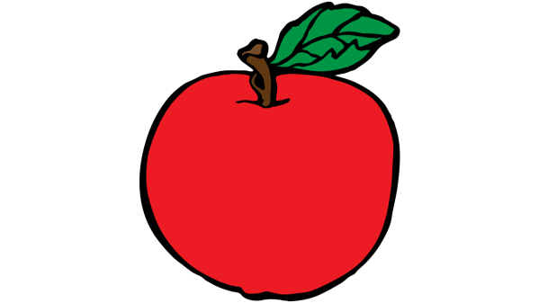red apple clipart - clipartix