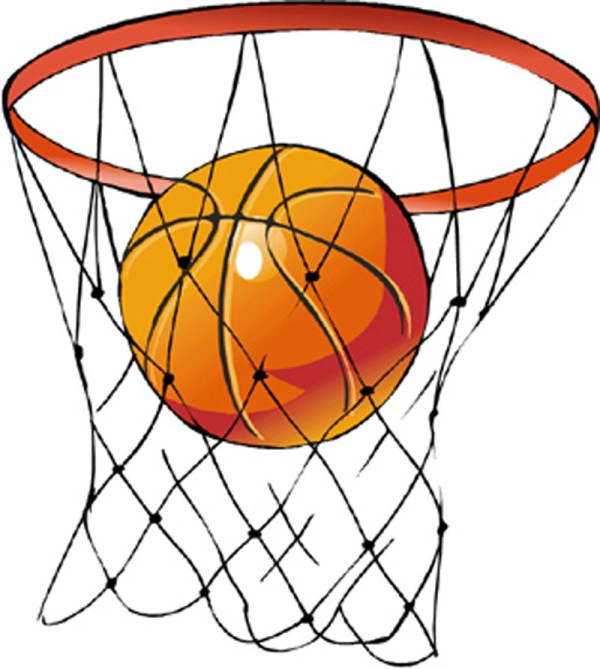 basketball hoop clipart free