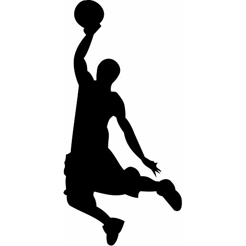 Clipart Basketball Player 2 Clipartix