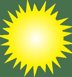 clipart sun 1 2 [ 2350 x 2371 Pixel ]