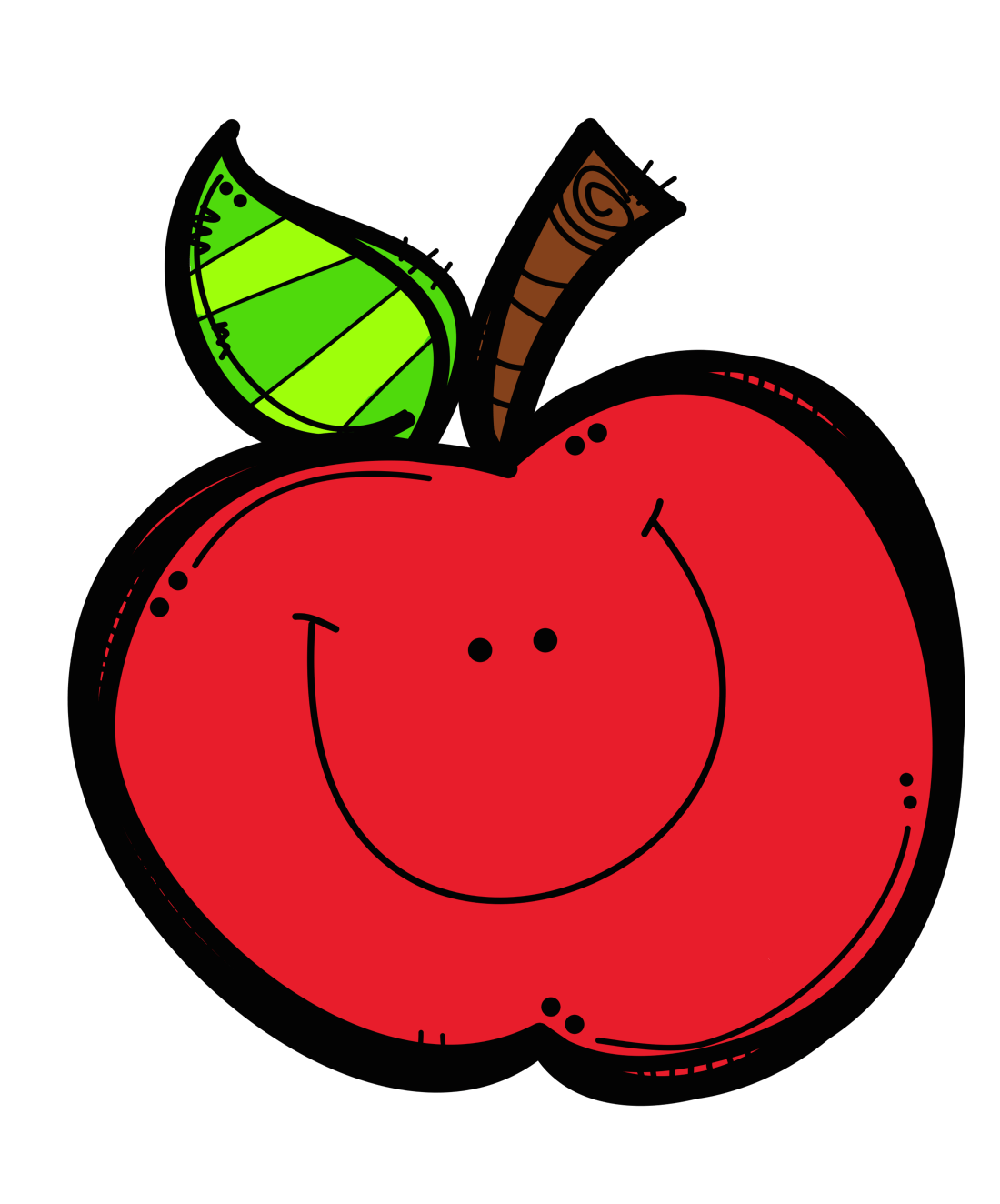 hight resolution of cute apple clip art free clipart images 2 2