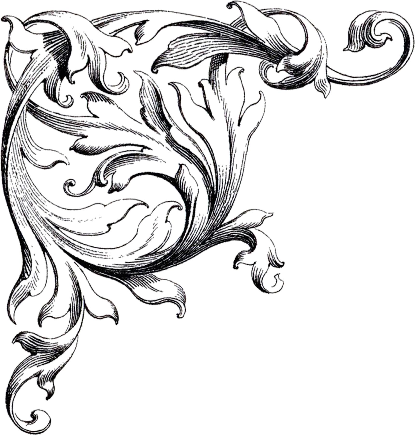 hight resolution of free wedding clip art scrolls the graphics fairy