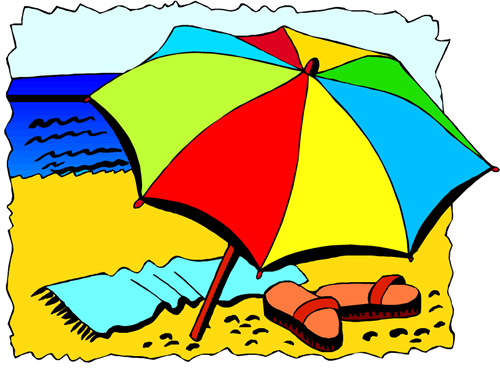 happy summer clipart free