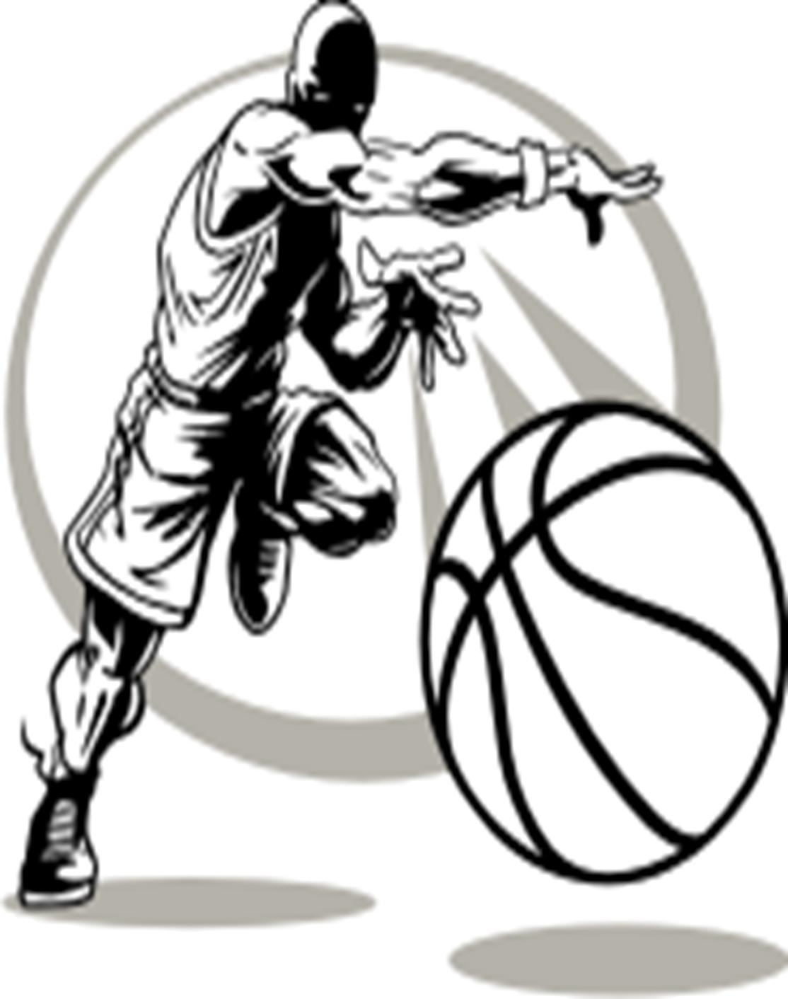 hight resolution of kid basketball player clipart free images