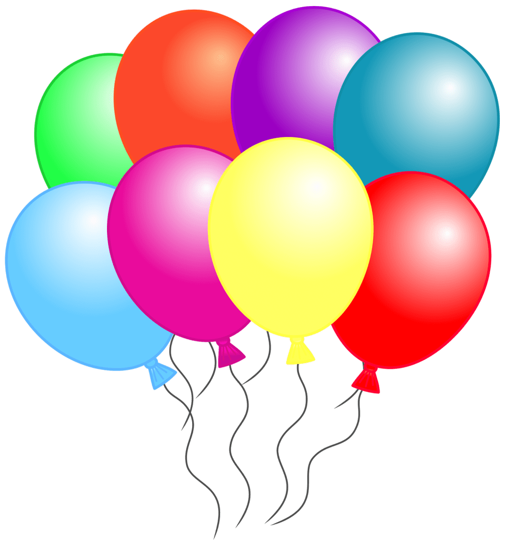 medium resolution of balloon clipart that can be downloaded individually and used alone