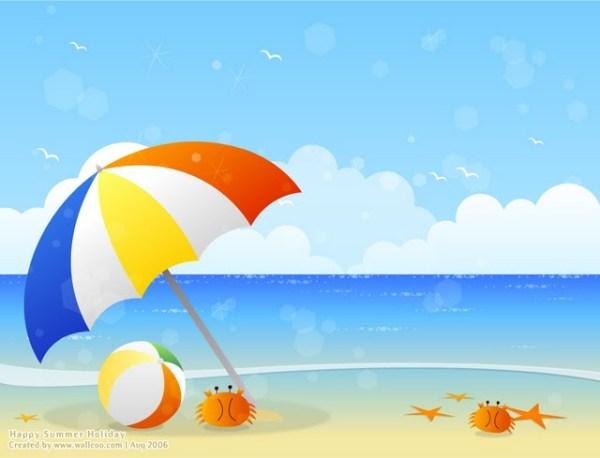 beach clipart free 3 - clipartix