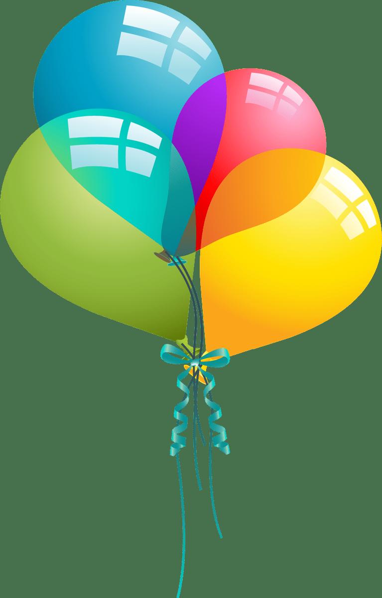medium resolution of birthday balloons free birthday balloon clip art clipart 8