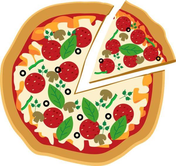 pizza clipart 0 - clipartix
