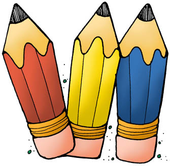 pencils clipart clipartandscrap