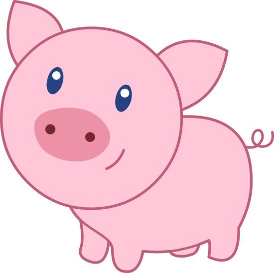 pig clipart - clipartix