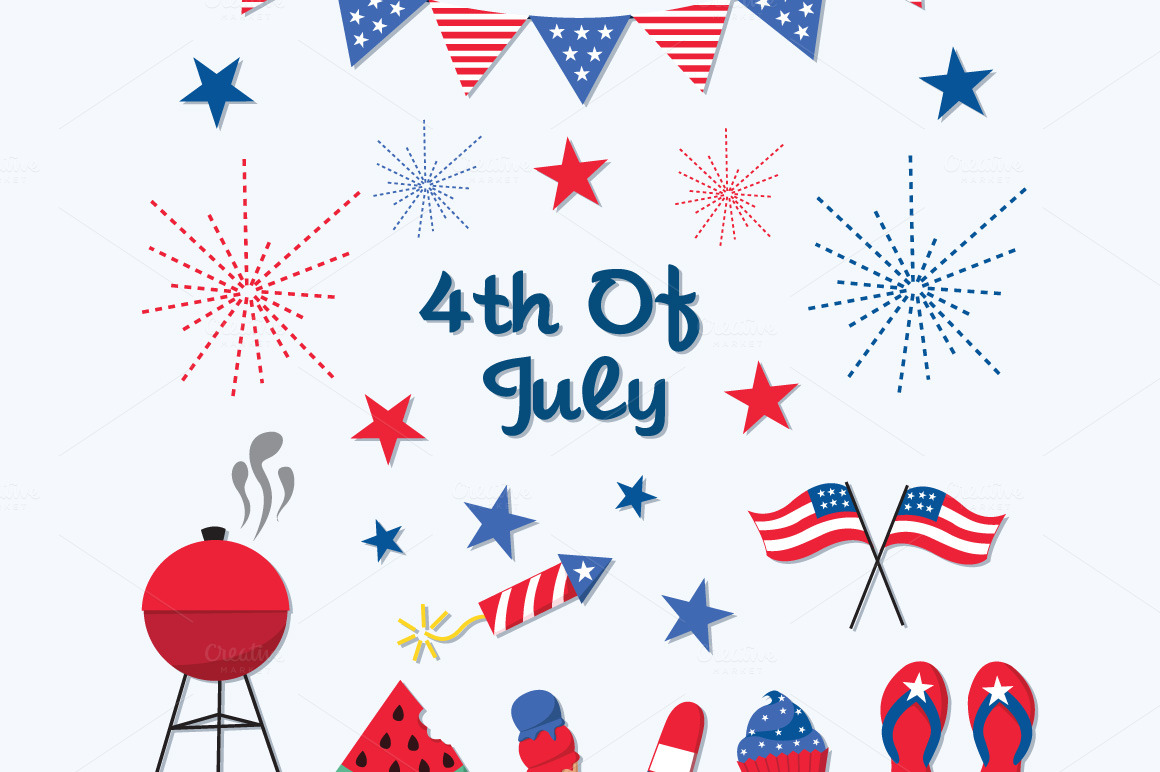 hight resolution of fourth of july 4th of july clipart 10